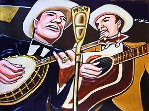 EARL SCRUGGS & LESTER FLATT PRINT POSTER Country music bluegrass guitar Banjo cd record album lp art