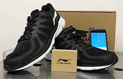 Li-Ning Xiaomi Smart Shoes Xiaomi-Running Shoes black, Zapatillas de Running en