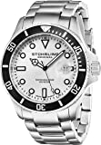 Stuhrling Original Men's 417.01 Aquadiver Regatta Espora Professional Diver Watch