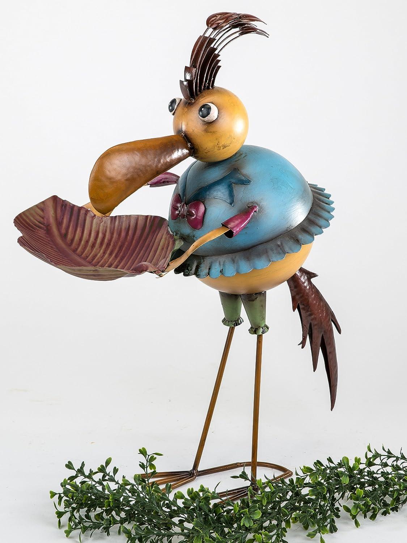 Dekorative Vogeltränke Vogel für Garten Balkon Terasse: Amazon.de ...