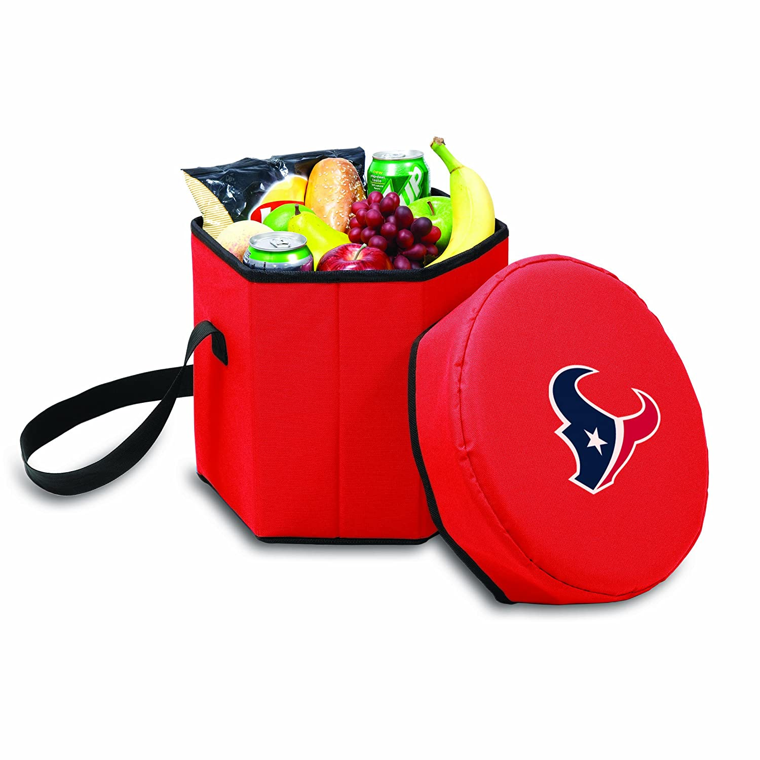 NFL Houston Texans Bongo Insulated Collapsible Cooler Red
