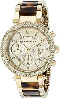 be0b394f7140 Amazon.com  Michael Kors Women s Parker Gold-Tone Watch MK5354 ...