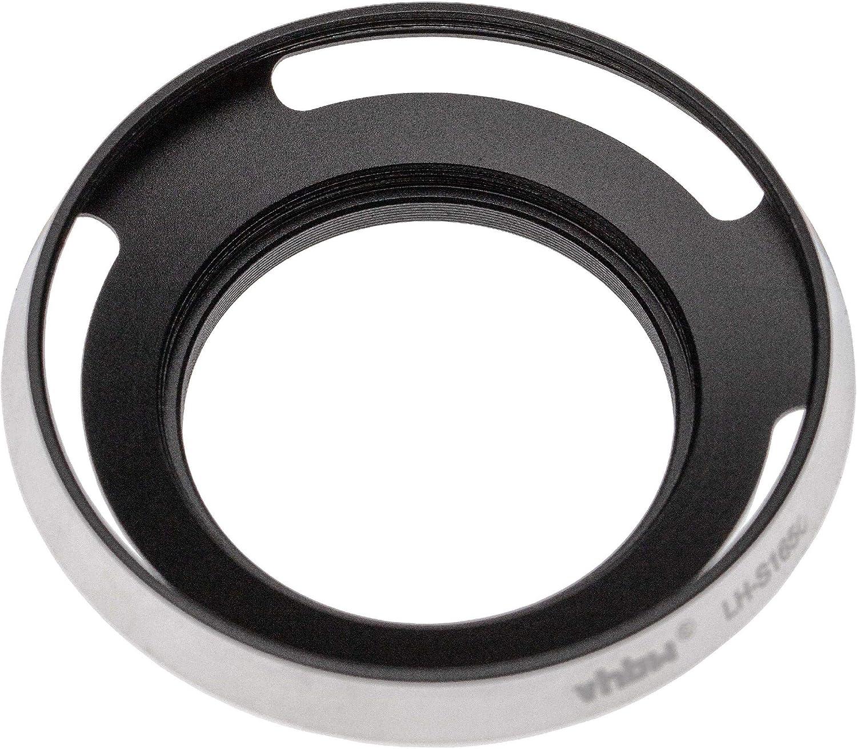 vhbw Gegenlichtblende Sonnenblende Streulichtblende Silber f/ür Sony E PZ 16-50mm f//3.5-5.6 OSS SELP1650 Lens wie LH-S1650.