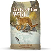 Taste of the Wild Grain Free High Protein Real Meat Recipe Canyon River Premium Dry Cat Food 6.35kg
