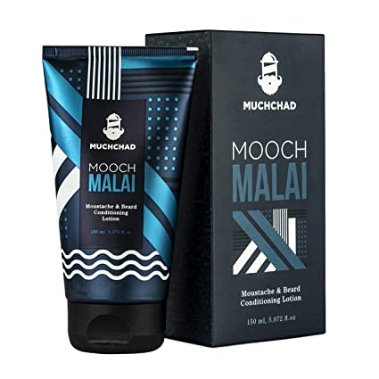 95f9cb53c Muchchad Mooch Malai Moustache & Beard Conditioning Lotion - 150 Ml (Pack  of 2): Amazon.in: Health & Personal Care