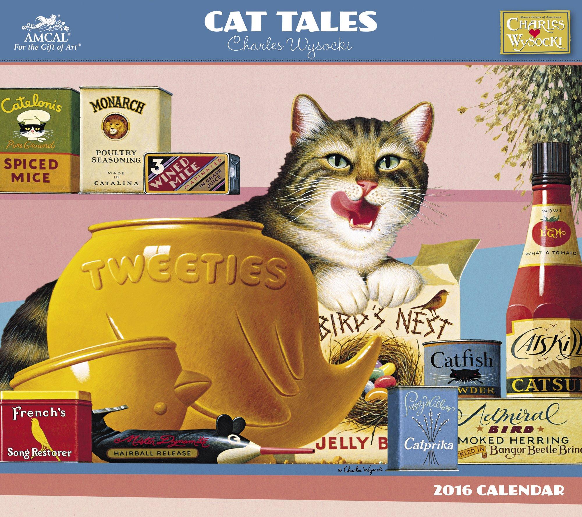 Charles Wysocki - Cat Tales Wall Calendar (2016) ebook