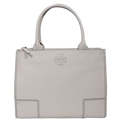 23b87339b92e Amazon.com  Tory Burch Ella LARGE Canvas Tote Handbag French Gray  Shoes