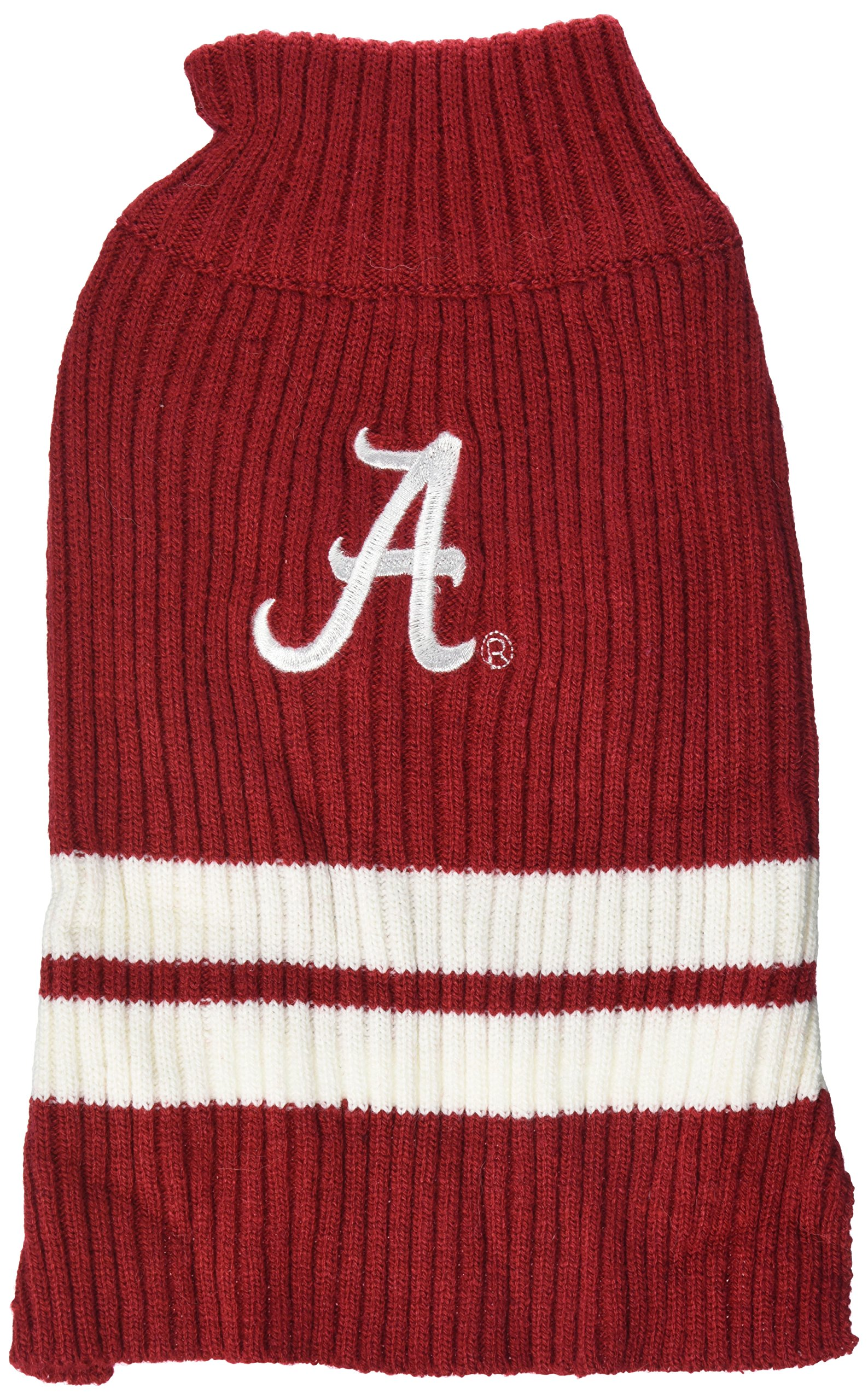 Pets First Collegiate Alabama Crimson Tide Pet Sweater, Small