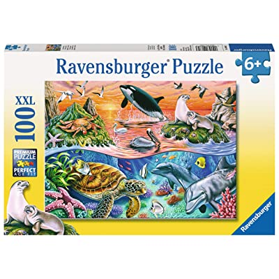 Ravensburger Beautiful Ocean 100 Piece Jigsaw Puzzle for Kids – Every Piece is Unique, Pieces Fit Together Perfectly: Toys & Games