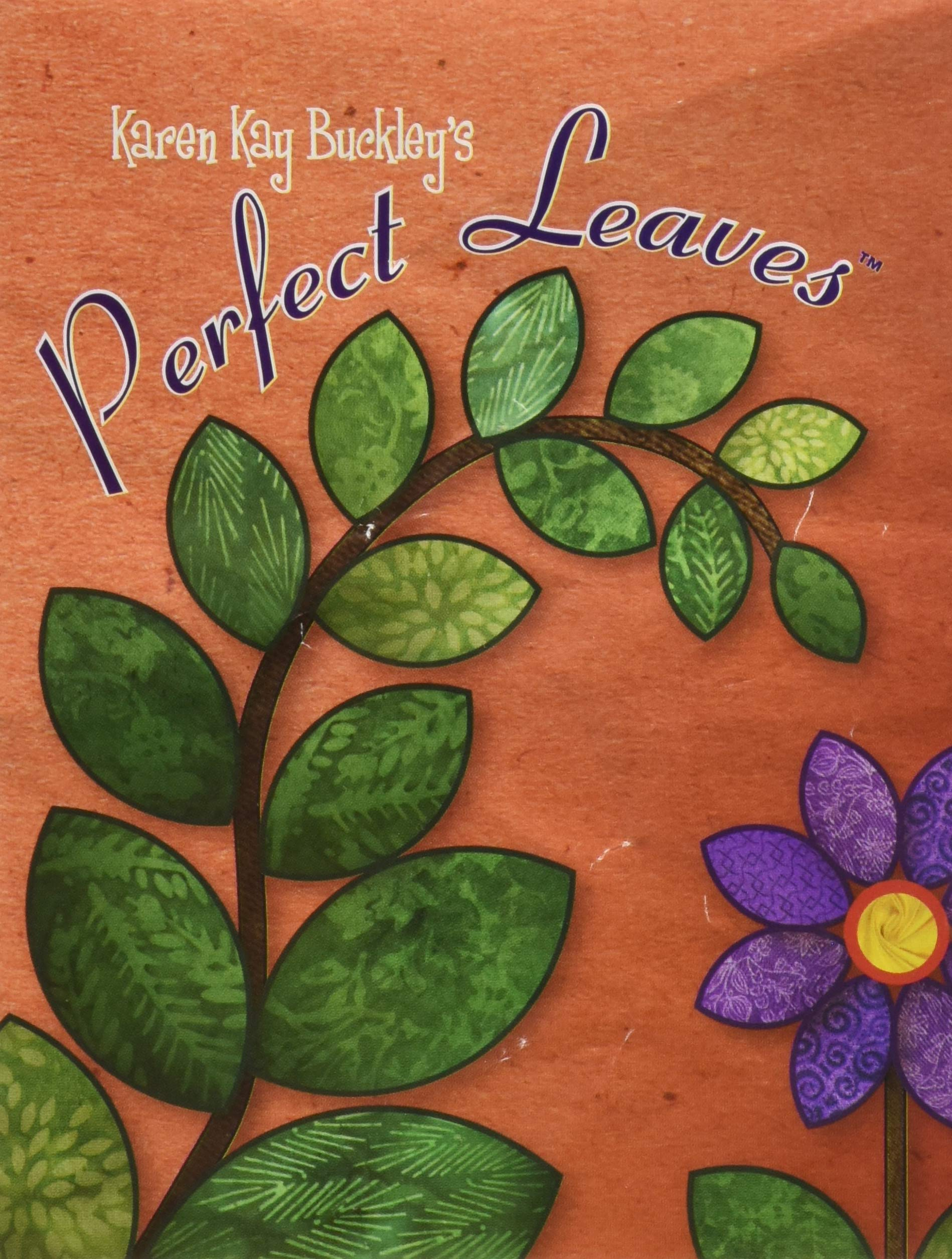 Perfect Leaves: Heat Resistant Plastic Templates in 15 Sizes by Karen Kay Buckley