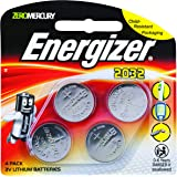 Energizer 2032 Lithium Coin Battery, 4 Pack