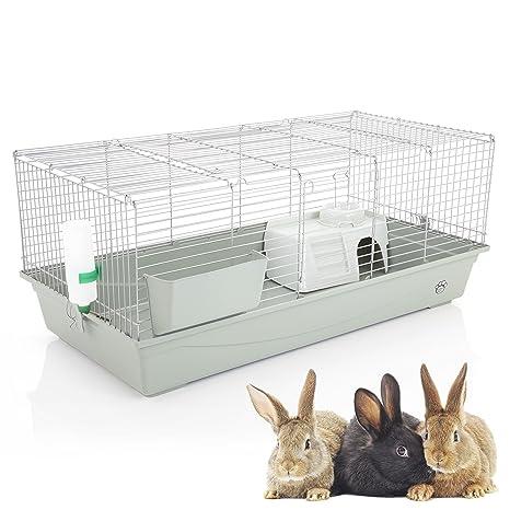 Cozy Pet Jaula de conejo y cobaya, 120 cm, apta para rata ...