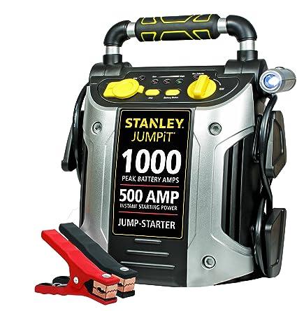 STANLEY J509 Power Station Jump Starter: 1000 Peak/500 Instant Amps