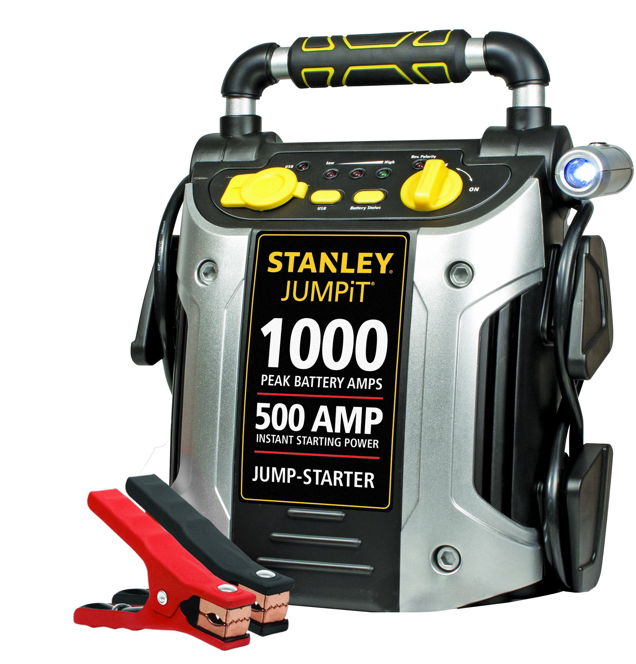 STANLEY J509 Jump Starter: 1000 Peak/500 Instant Amps by STANLEY
