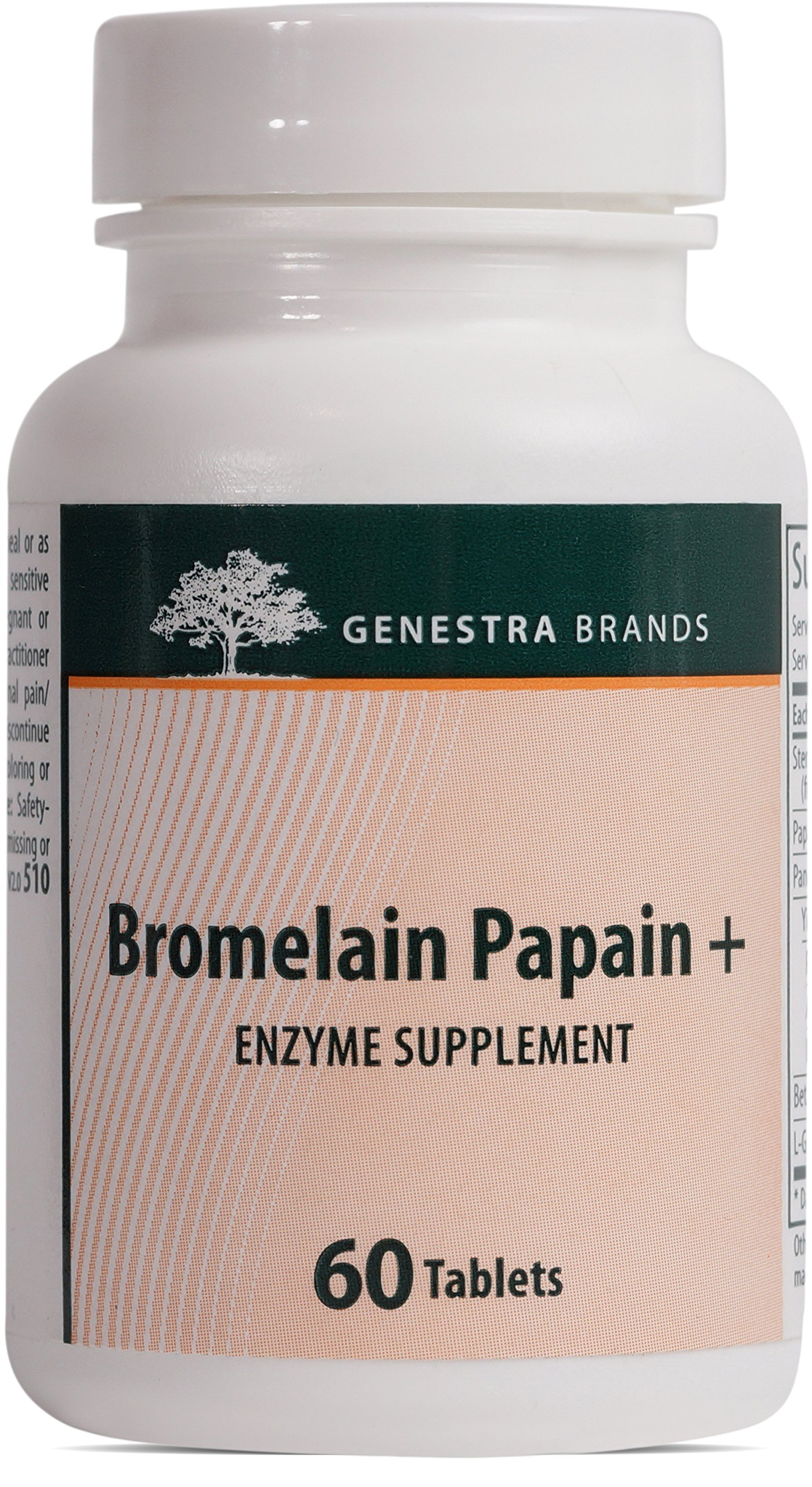 Genestra Brands - Bromelain Papain+ - Multi Enzymatic Formulation in Tablet Format - 60 Tablets