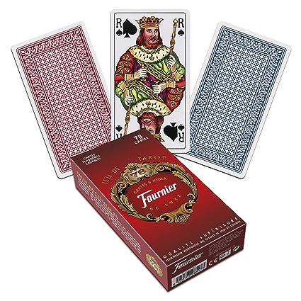Amazon Fournier Jeu De Tarot Cards Pack Of 78 Toys Games