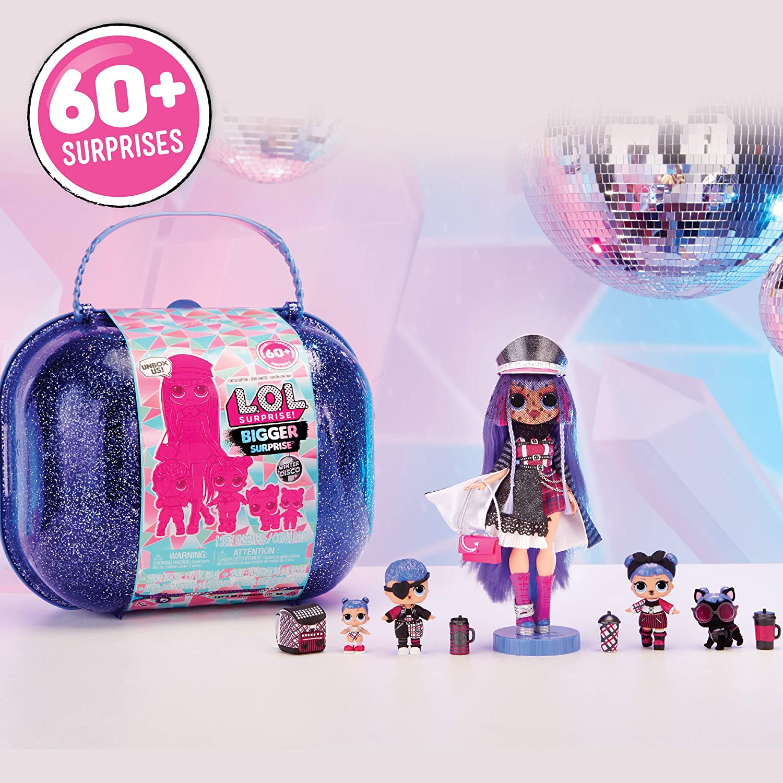 L.O.L. Surprise! - Winter Disco Bigger Surprise, maletín con muñecas coleccionables y más de 60 sorpresas (Giochi Preziosi, 421627): Amazon.es: Juguetes y juegos