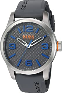 HUGO BOSS Orange Men s Paris Quartz Stainless Steel Casual Watch (Model   1513349) 7d2eebeb5ef