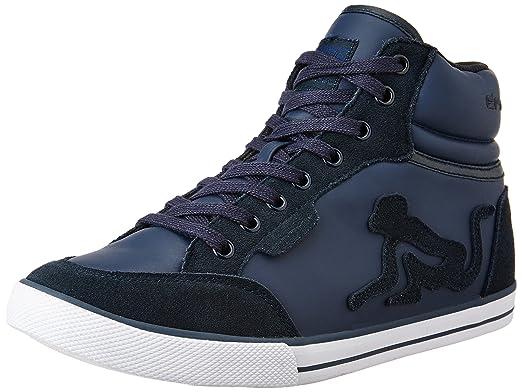 DrunknMunky bsoton Vintage B 082, Sneaker Enfant - - Bleu, 29 EU