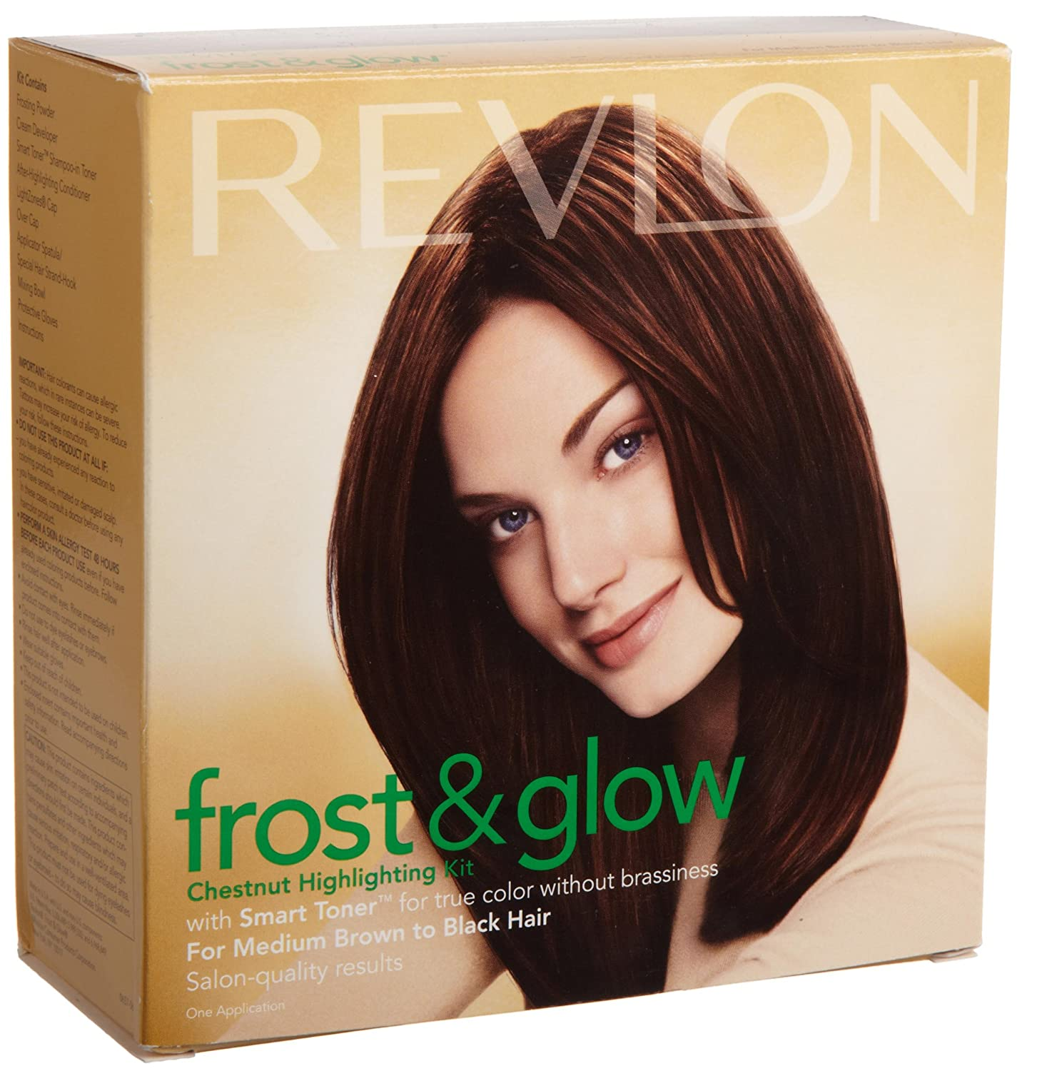 Amazon Revlon Frost And Glow Highlights Chestnut 16 Ounces