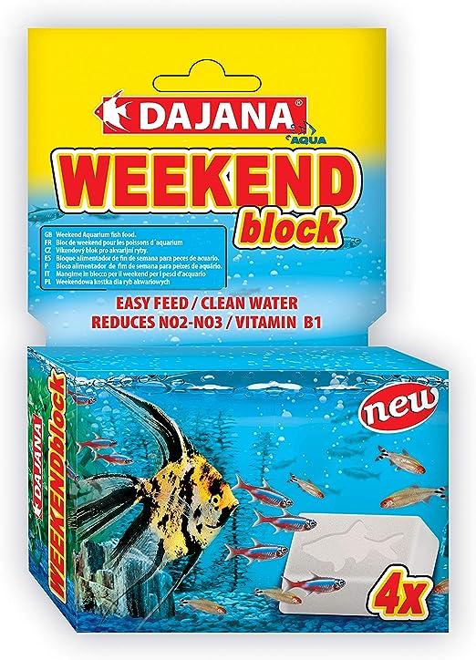Dajana Weekend Block 4 UND.: Amazon.es: Productos para mascotas