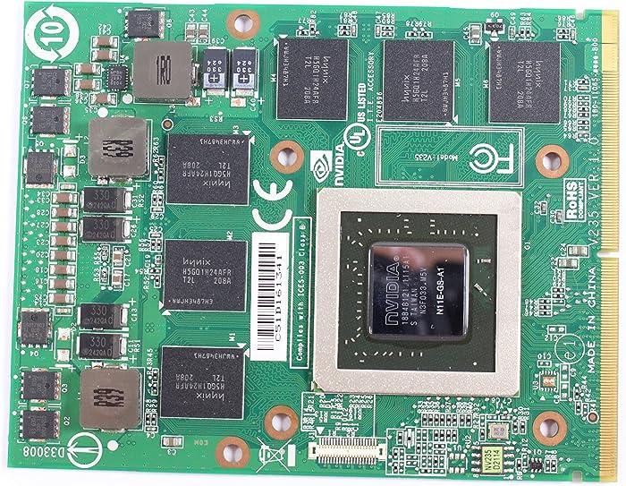 Dell Alienware Nvidia Geforce GTX 460M Laptop Graphic Card 1.5GB GDDR5 Ram VDV04