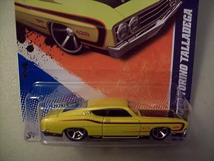 Hot Wheels Walmart Exclusive  Ford Torino Talladega Yellow