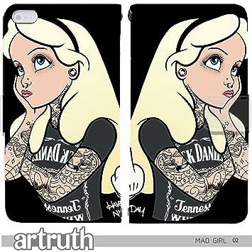 b49799269e MAD GIRL DISNEY 手帳型 iPhoneSE (iPhone SE) iphoneSE(G008501_02) 専用 アリス