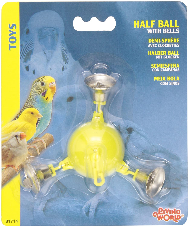 Living World Half Ball with 3 Metal Bells