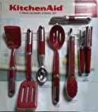 KitchenAid Cook's 7 Piece Culinary Utensil Set (Red)