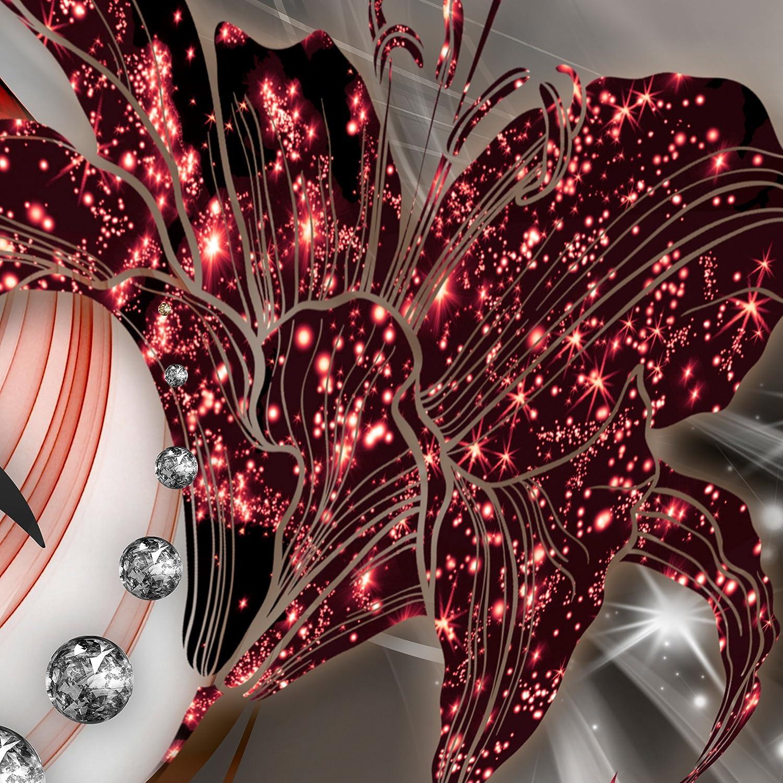 Decomonkey Fototapete selbstklebend Abstrakt Lilien 245x175 cm XL Selbstklebende Tapeten Tapeten Tapeten Wand Fototapeten Tapete Wandtapete klebend Klebefolie Blaumen Diamant B07FDC6HP9 Wandtattoos & Wandbilder e04f58