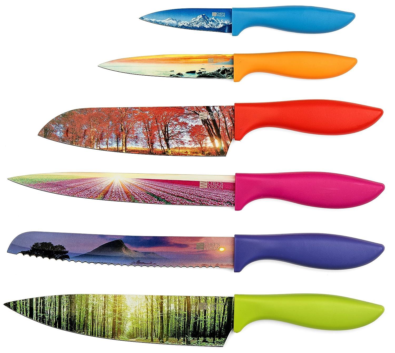 Chef`s Vision 6 Piece Color La...