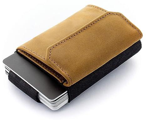 8b394d4444 JAIMIE JACOBS 'Nano Boy Pocket' Mini Portafoglio uomo con Portamonete,  Porta Carte di
