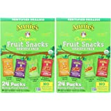 Annies Homegrown pIdJLnJ Organic Bunny Fruit Snacks Variety Pack (24 ct) - 19.2 Ounce (Pack of 2)