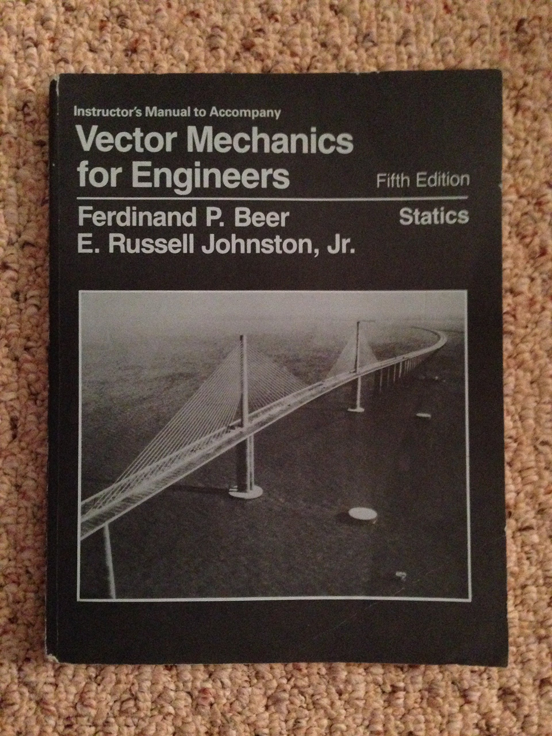 Buy Vector Mechanics for Engineers: Statics: Solutions Manual Book Online  at Low Prices in India | Vector Mechanics for Engineers: Statics: Solutions  Manual ...