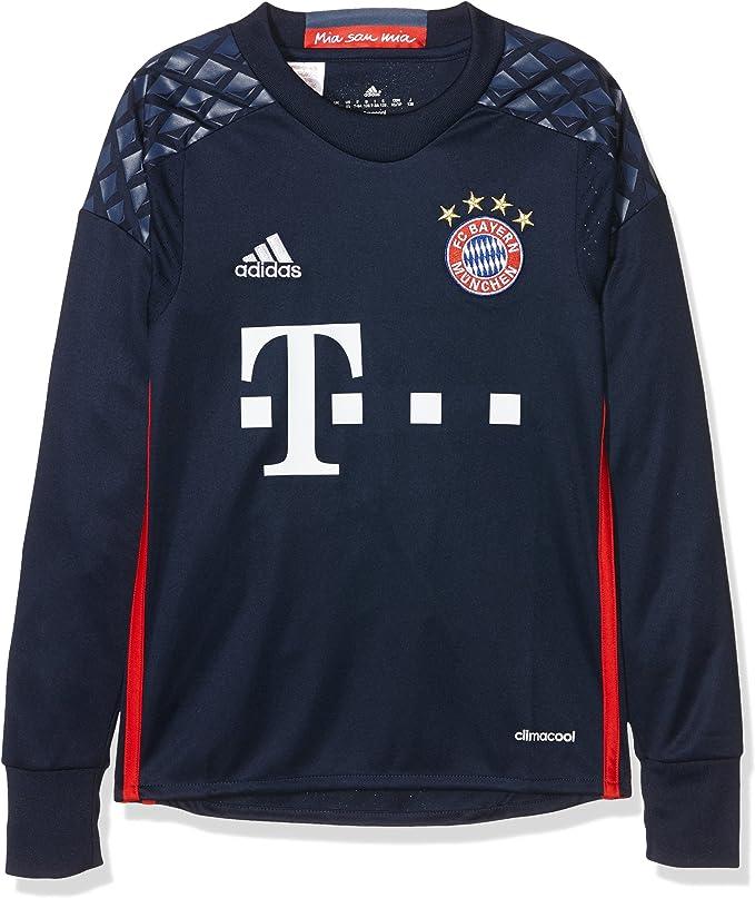 adidas FCB H Gk JSY Y - Camiseta 1º Equipación del Bayern FC Niños: Amazon.es: Ropa y accesorios