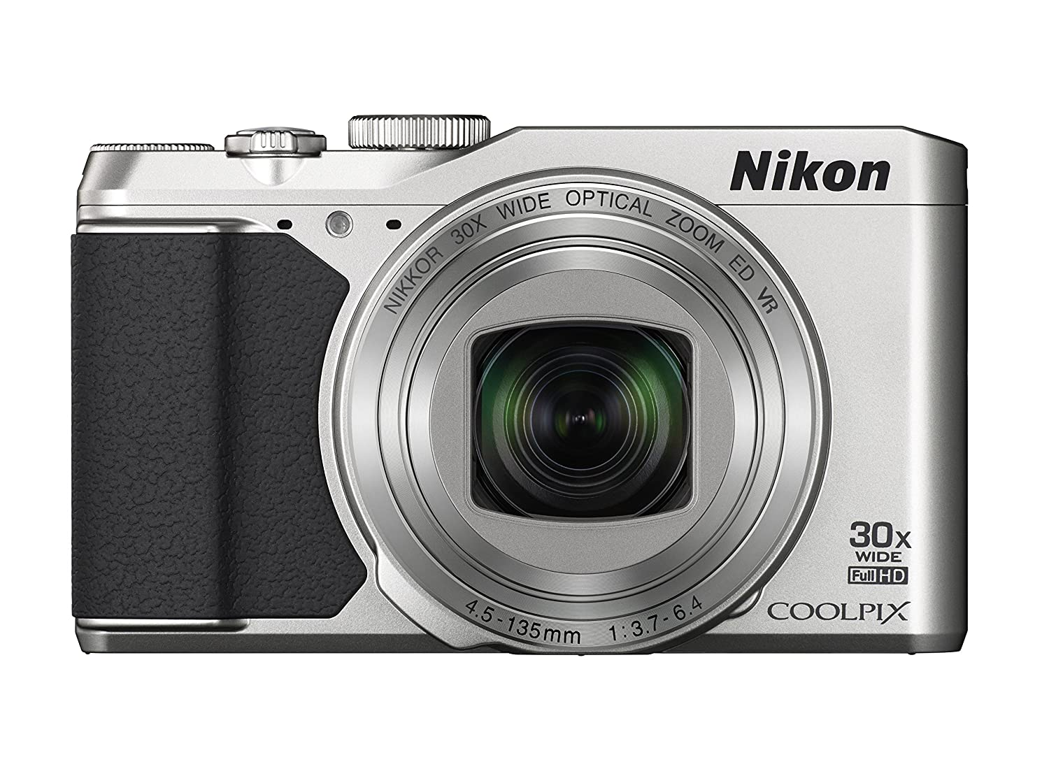 c9a4e42729c Amazon.com   Nikon COOLPIX S9900 Digital Camera with 30x Optical Zoom and  Built-In Wi-Fi (Silver)   Camera   Photo