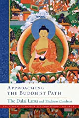 Approaching the Buddhist Path (The Library of Wisdom and Compassion) Hardcover