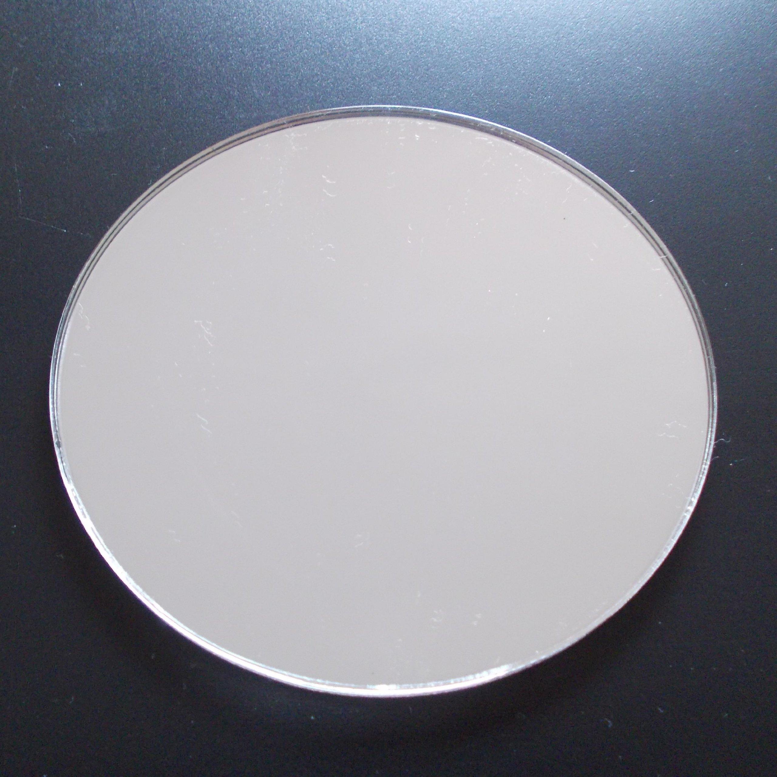 Round Circular Mirror Disc 25 SIZES TO CHOOSE   Silver Circular Acrylic  Mirror Round Wall Safety