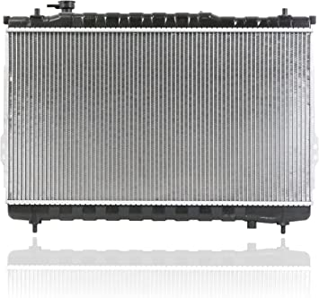 Radiator Pacific Best Inc For//Fit 2759 01-06 Hyundai Santa Fe AT//MT V6 3.5L Plastic Tank Aluminum Core