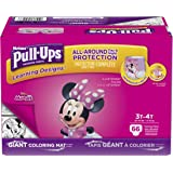 Pull-Ups Learning Designs Potty Training Pants for Girls, 3T-4T (32-40 lb.), 66 Ct. (Packaging May Vary)