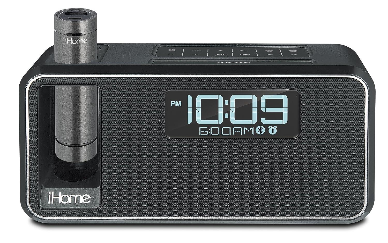 iHome Dual Charge Bluetooth NFC Stereo Alarm Clock - Black: Amazon