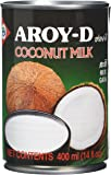 Aroy D Coconut Milk 400 ml (Pack of 12)