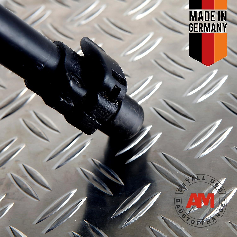 Aluminium Riffelblech 5,0//6,5 mm Duett Blech Alu Tränenblech Warzenblech Tafel