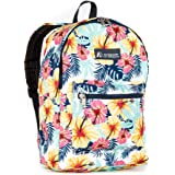 Everest Kids' Basic Pattern Backpack, Tropical, One Size