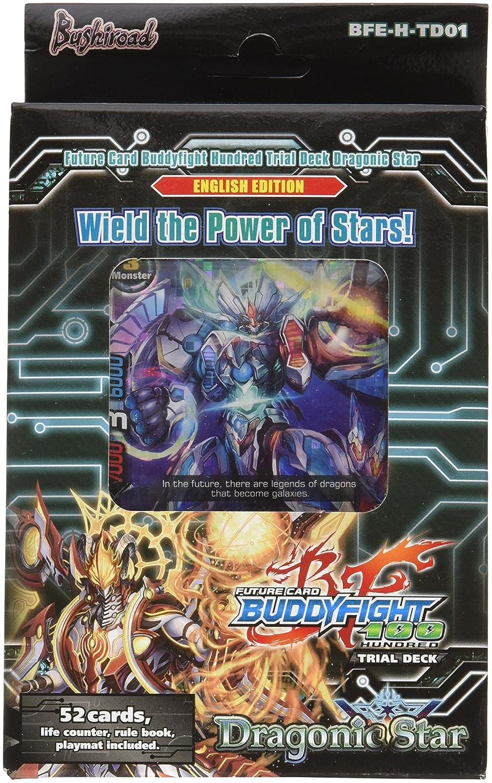 Bushiroad BFE-H-TD01 - Future Card Buddyfight Trial Deck H-01, Dragonic Star Kartenspiel Englisch