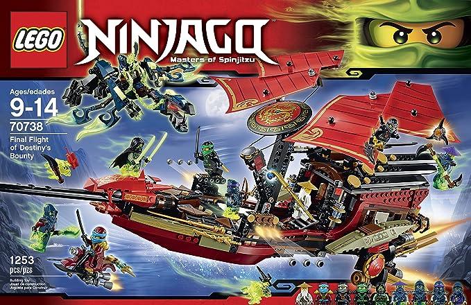 Amazon.com: Kit de construcción de Ninjago 70738 ...