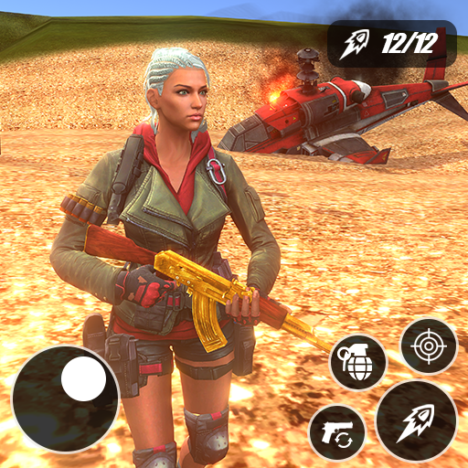 Fire Battle Squad Survival: Free Fire strike game