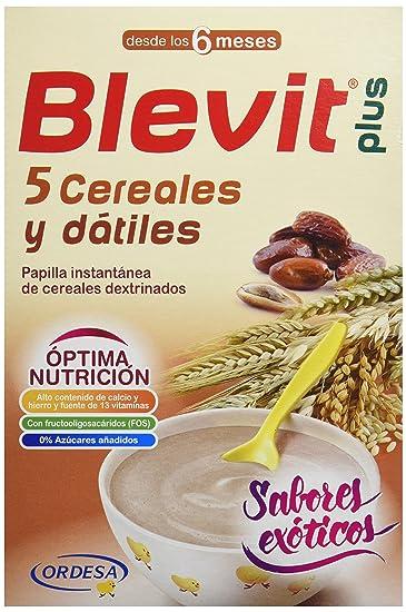 Blevit Plus 5 Cereales y Dátiles - 300 gr