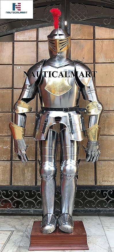 Amazon.com: Nauticalart, traje de Halloween de latón español ...
